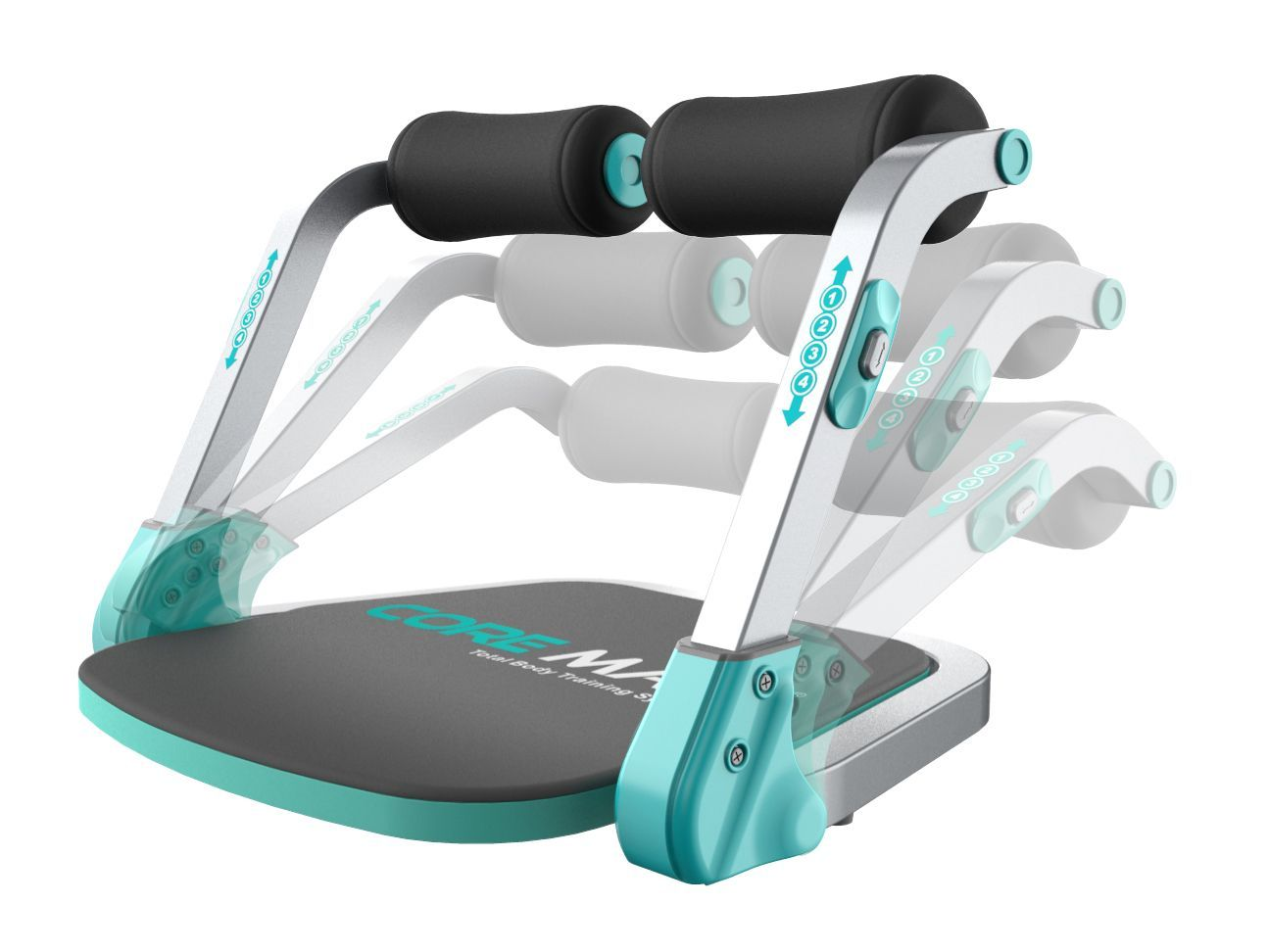 Core Max Total Body Training System 2.0, Blue