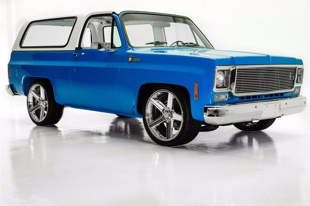 1975 Chevrolet K5 Blazer Rare 2wd Frame Off Ac K5 Blazer Cool Trucks Chevrolet