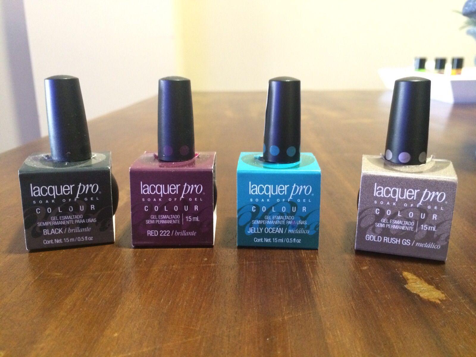 Esmaltes semipermanentes para uñas de Lacquer Pro de Organic Nails ...