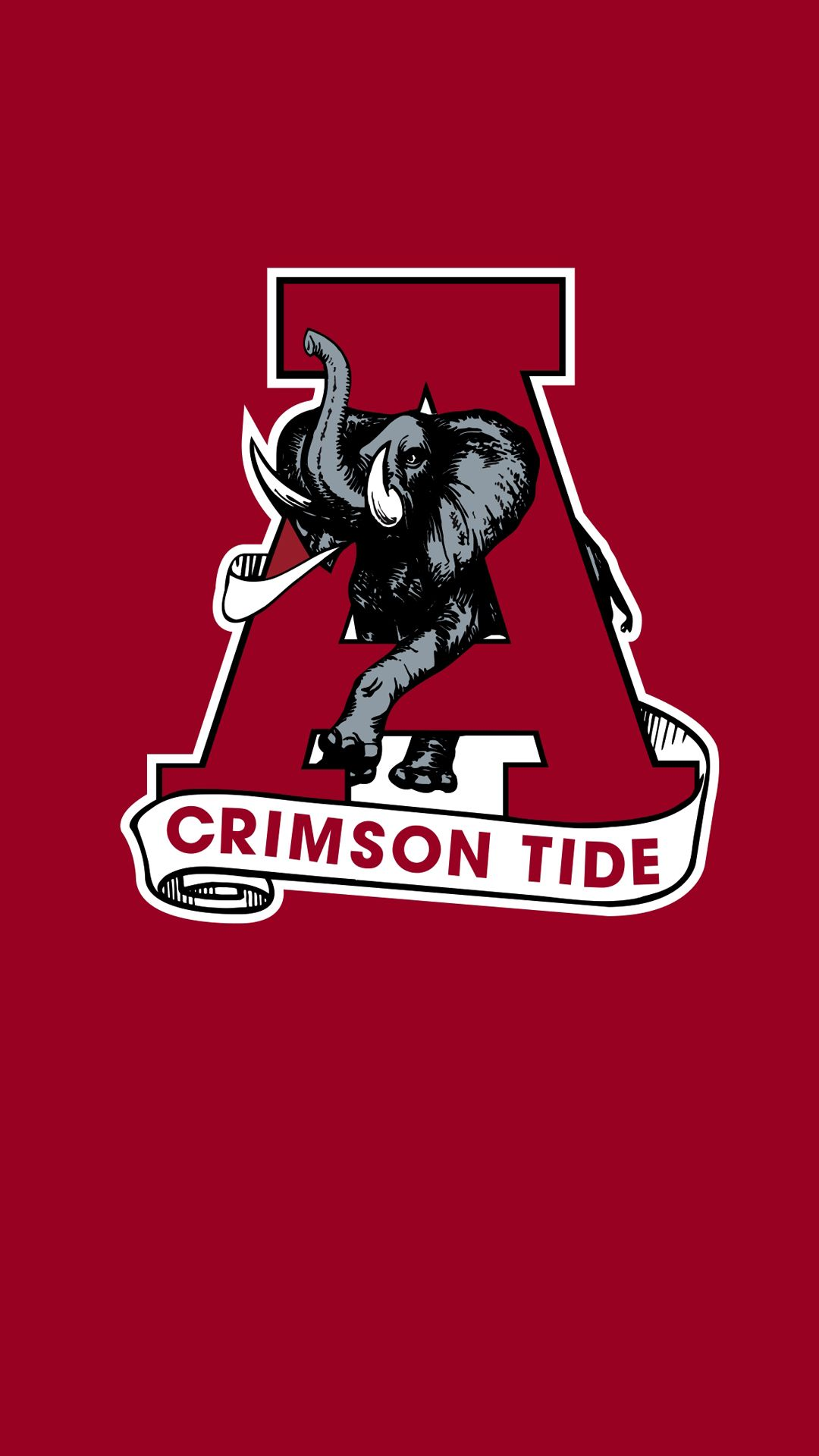 Free Alabama Wallpapers For Mobile Phones With Big Al Photo Alabama Crimson Tide Logo Alabama Wallpaper Tide Logo