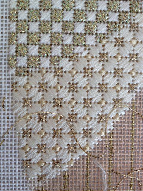 Resultado de imagen para punto bargello tutorial | bordados ...