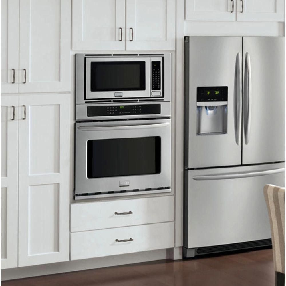 Ge Pk7800skss 27 Inch Combination Electric Wall Oven With 6 Total