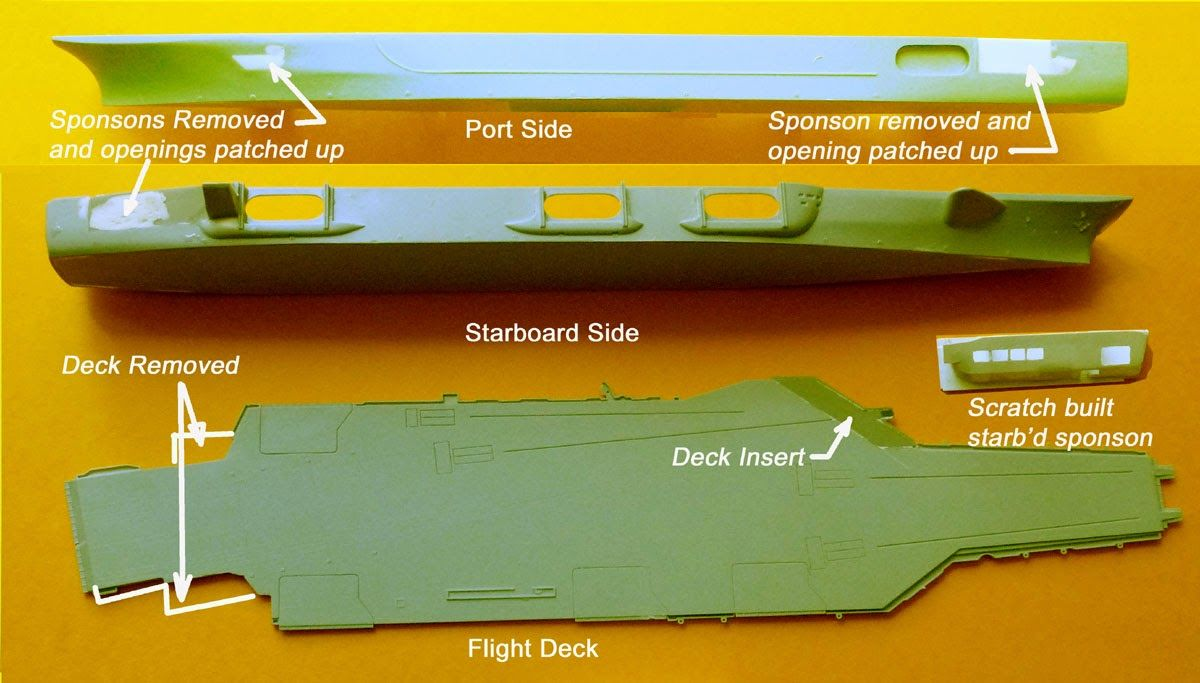 Building A 1 700 Scale USS John F Kennedy CV 67 Part 1