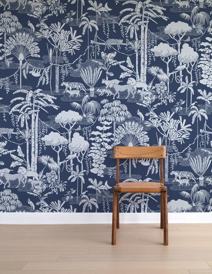 aimee wilder jungle dream lune Modern wallpaper, Jungle