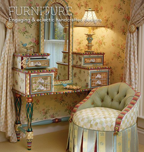 mckenzie childs furniture images | MacKenzie-Childs - Eclectic Furniture Hand Decorated at MacKenzie ...