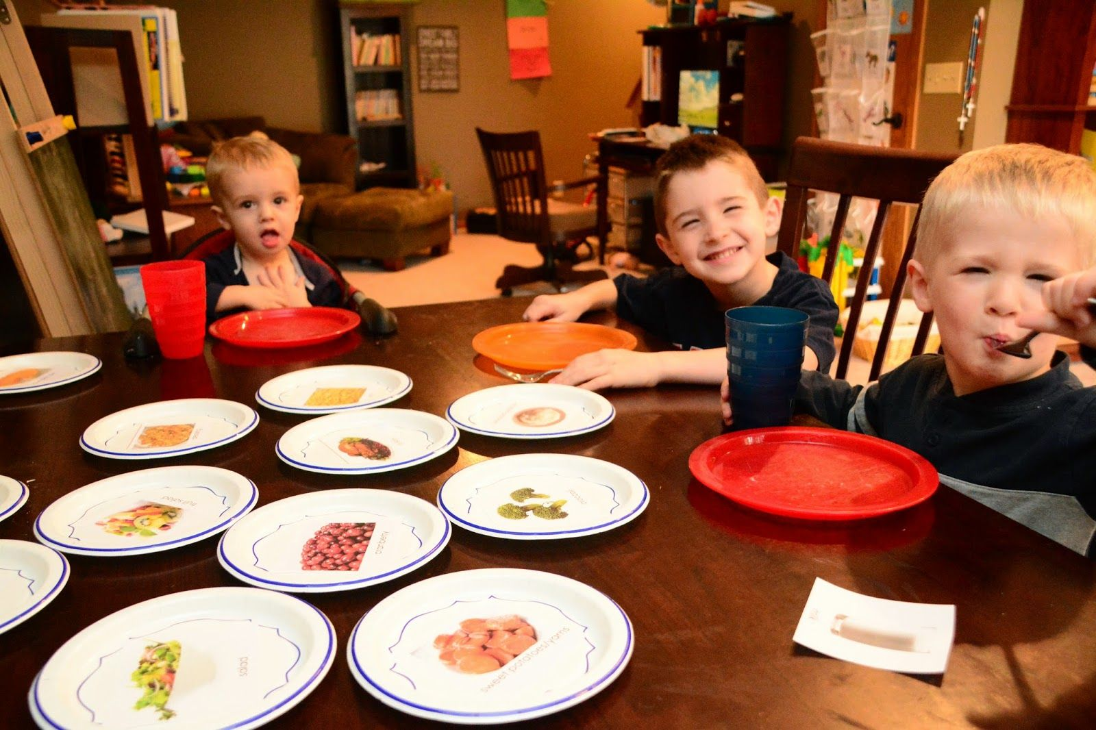 Preschool Table Manners Amp Thanksgiving Fun