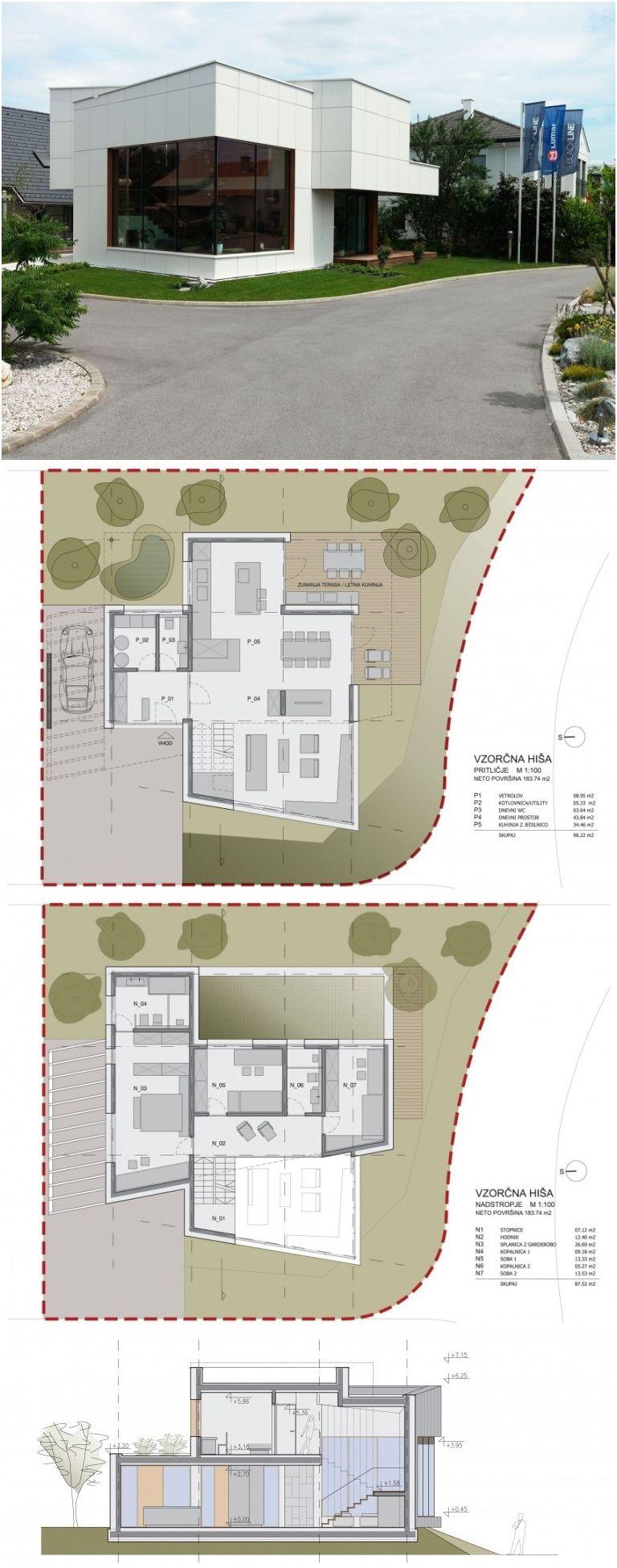 musterhaus vienna by sono arhitekti - Vienna House Plans
