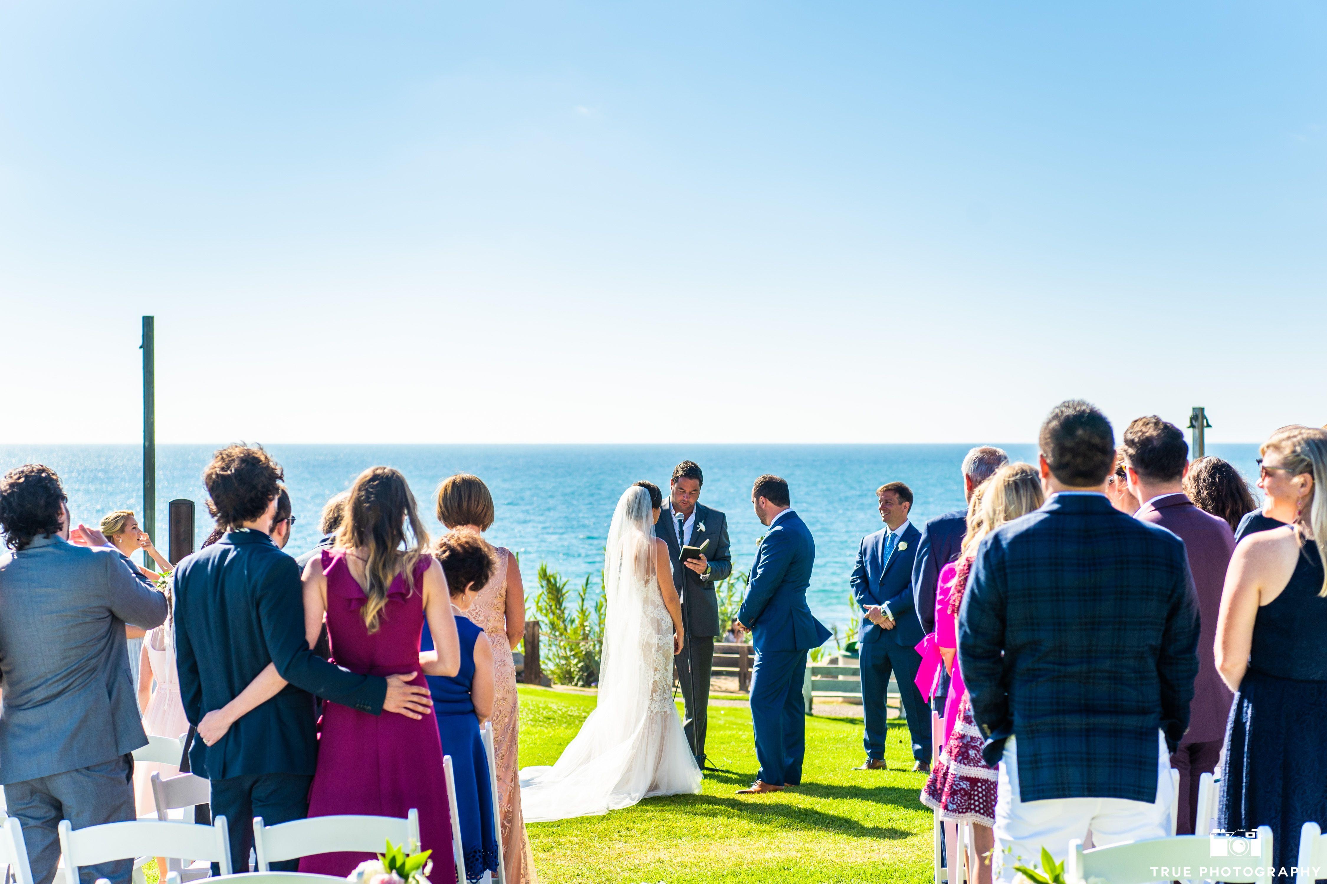 Beach wedding spots  Pin by LuAuberge Del Mar on Real LuAuberge Weddings  Pinterest