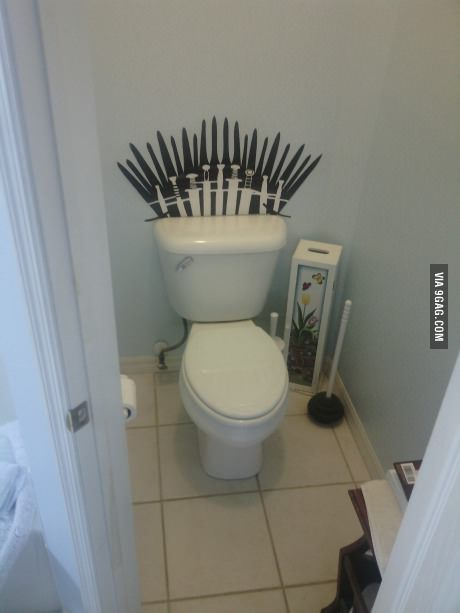Time to sit on the iron throne