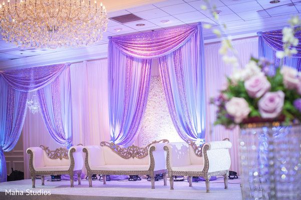 Gorgeous wedding stage colors http://www.maharaniweddings.com/gallery/photo/105707