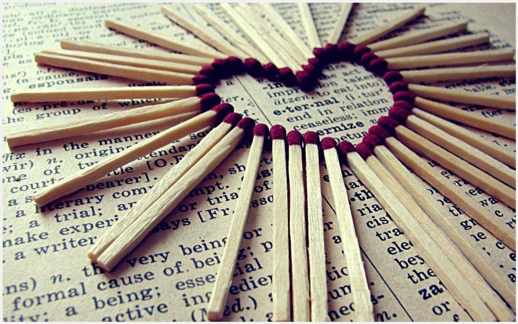 Matchstick Craft Love Heart Wallpaper Matchstick Craft Love