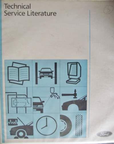 Ford Probe Wiring Diagram Manual 1996 Cg1623en