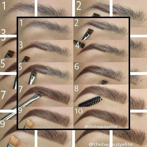 Eyebrow Places Near Me   How To Do Your Eyebrows At Home ...
