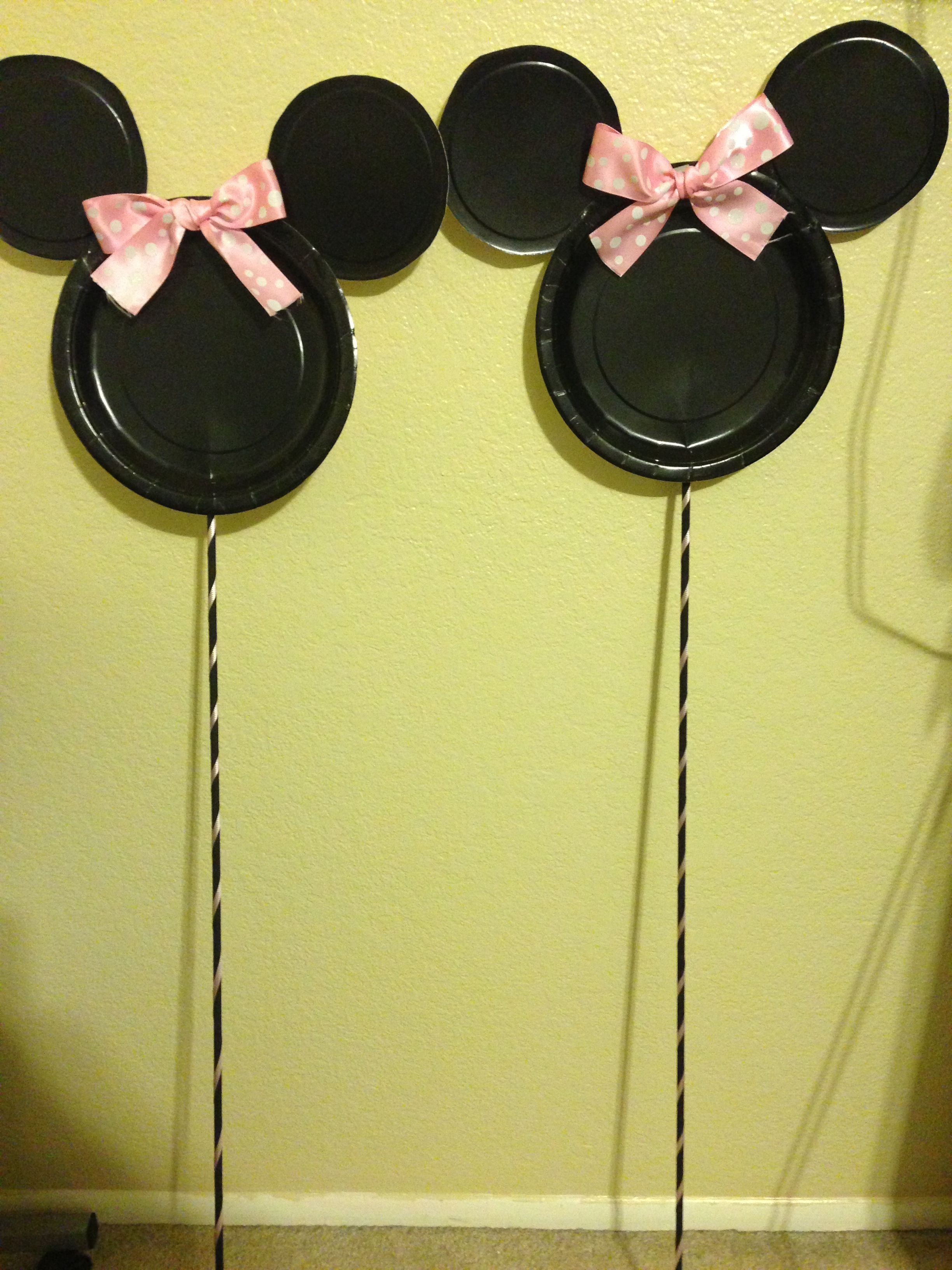Minnie Mouse decorations. Minnie Mouse party ideas | Analicias bday ...