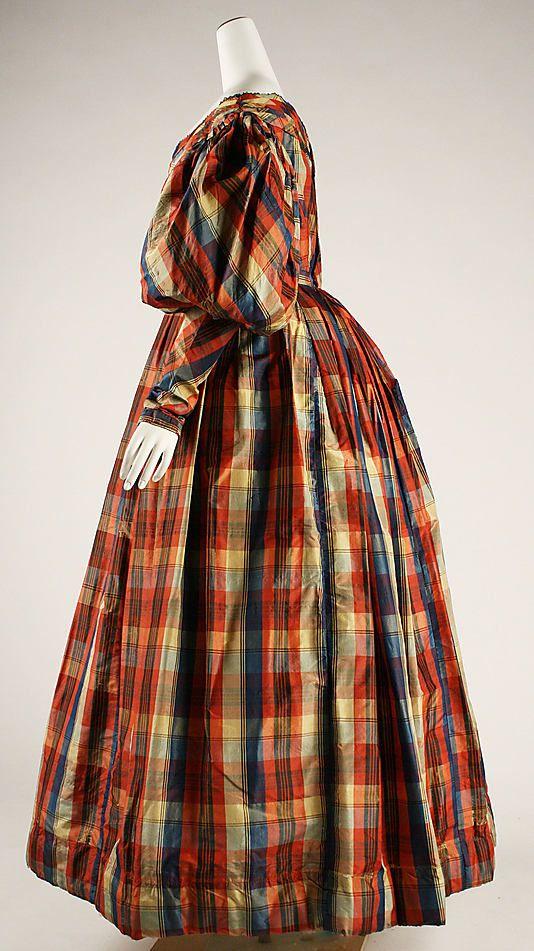 Dress Date: ca. 1830 Culture: British Medium: silk