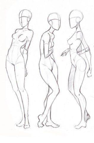 Pin de Masha Pride en body sketch | Pinterest | Anatomía, Dibujo y ...