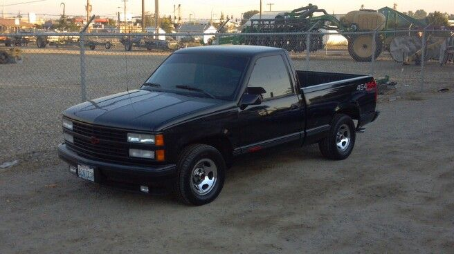 1992 Chevy 454 SS  454cid engine, special 700R4 automatic