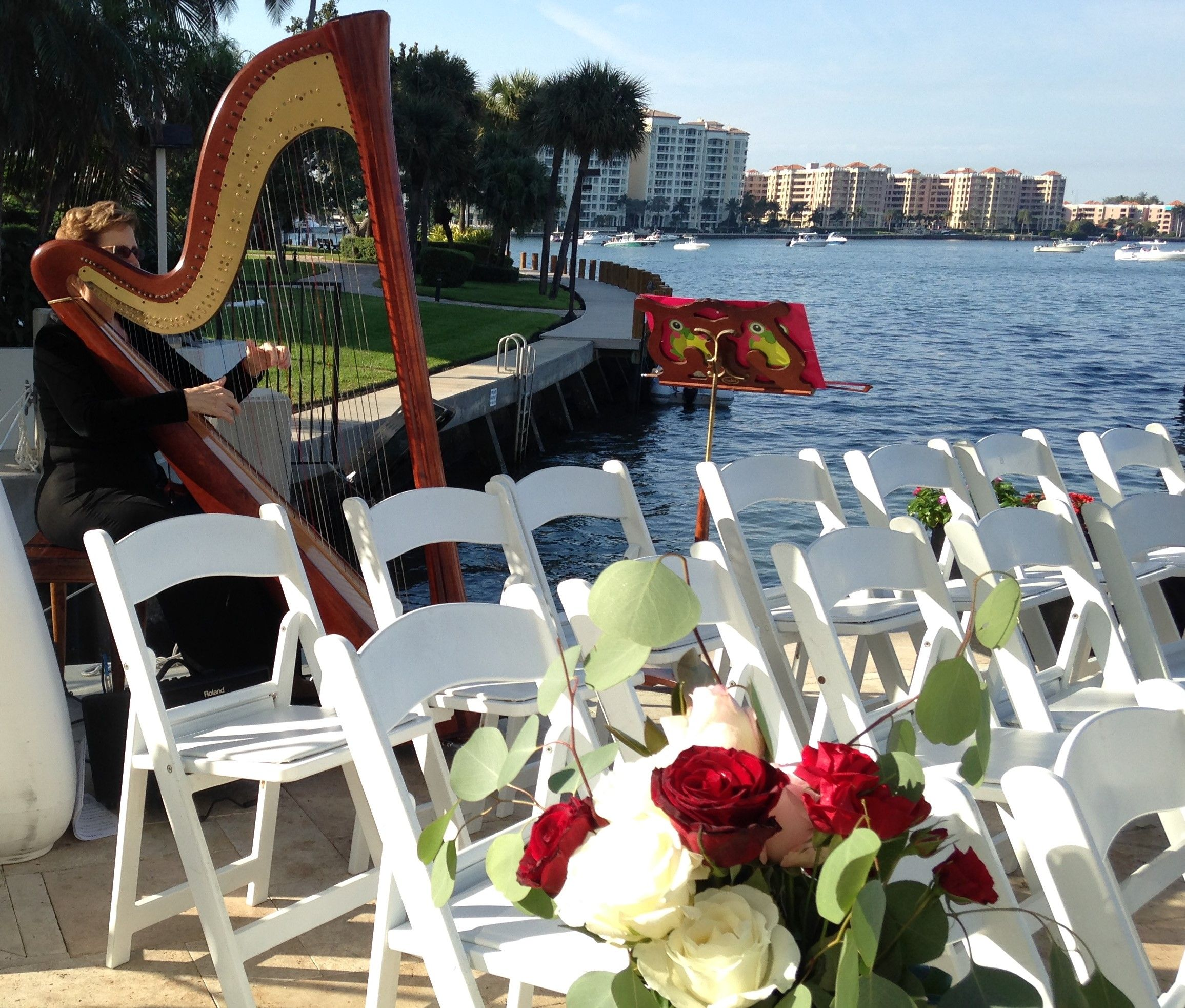 Beach Wedding Ceremony Playlist: Beautiful Day, Beautiful Lake Boca Wedding At Waterstone