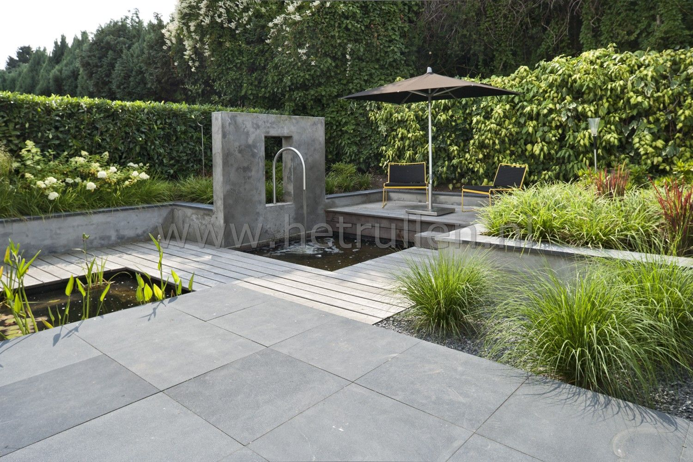 Tuinontwerp tuinaanleg eindhoven helmond patiotuin kleine for Tuin en vijver
