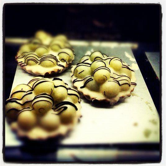 Tarta de uvas con chocolate blanco!!! Deliciosa!!!