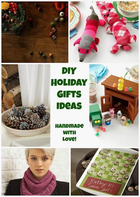 Six Handmade with Love Holiday Gift Ideas