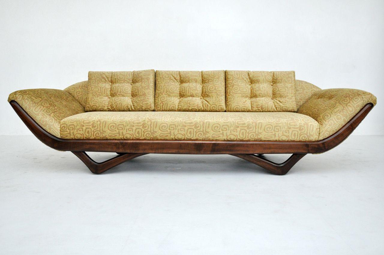 Adrian Pearsall Gondola Couch Mid Century Modern Furniture