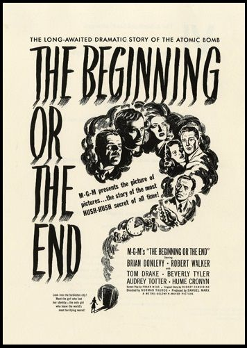 Now Available The Beginning Or The End Usa 1947 Director Norman Taurog Note Great News Now Available From Warner Norman Lloyd The End Robert Walker