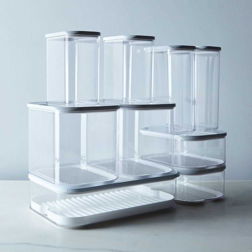 Modula Stackable Storage Containers (Set of 2) | Storage containers ...