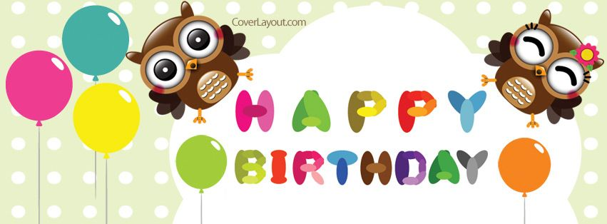 Thank You For The Happy Birthday Wishes Cupcakes Facebook Cover Happy Birthday Wishes Thanks