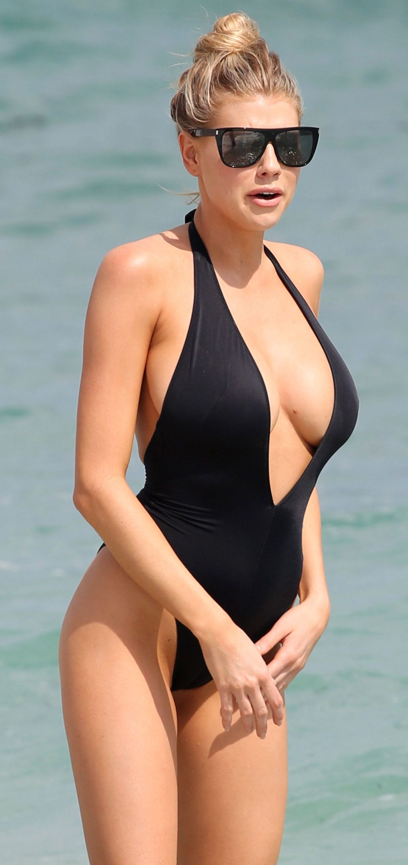 Charlotte mckinney bikini hiding butthole new pics