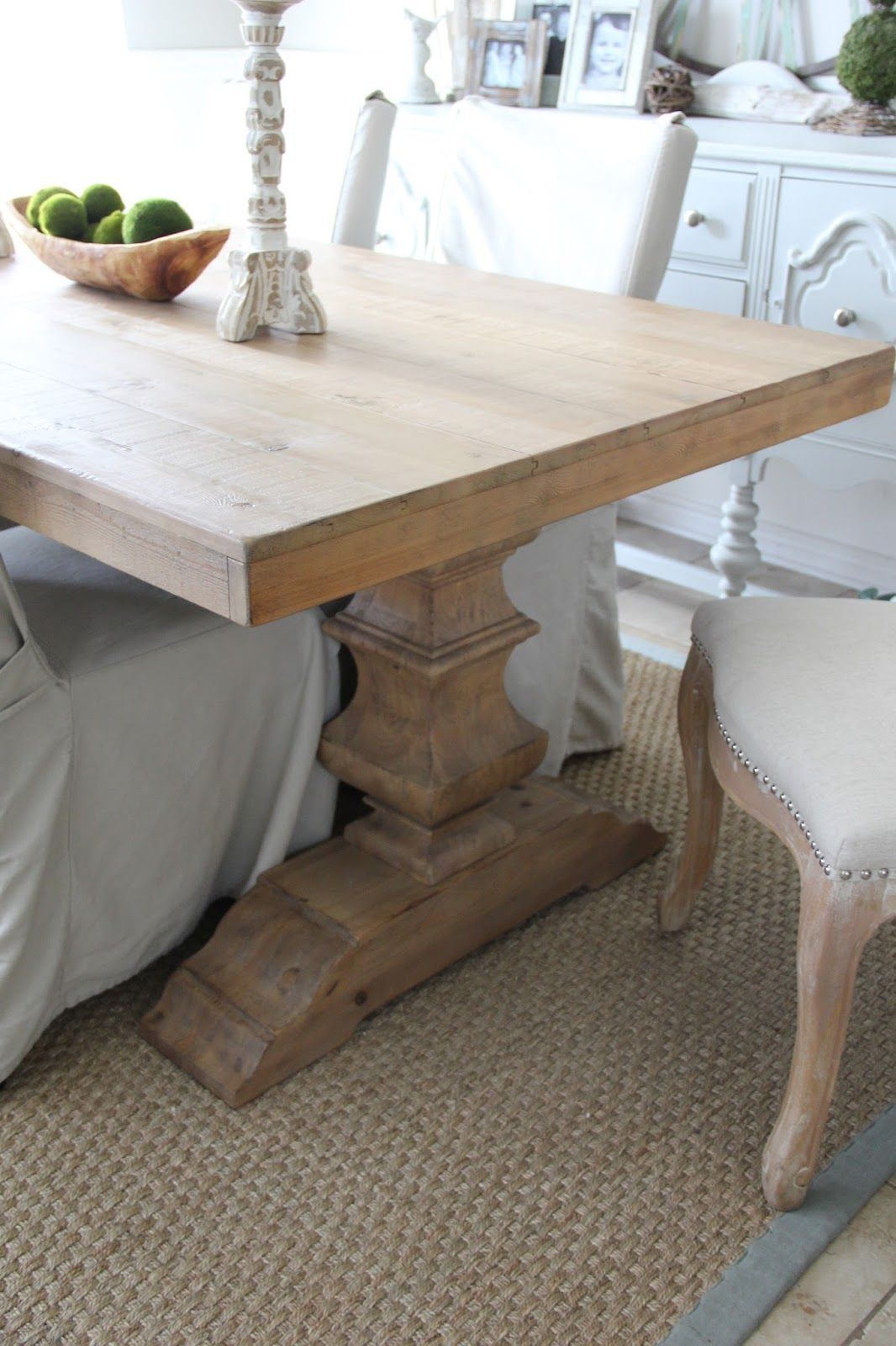 Pottery Barn Banks Dining Table  Pottery barn dining room