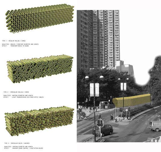 Hong Kong Noise Barrier Sva 2 Architecture Pinterest Landscape Architecture