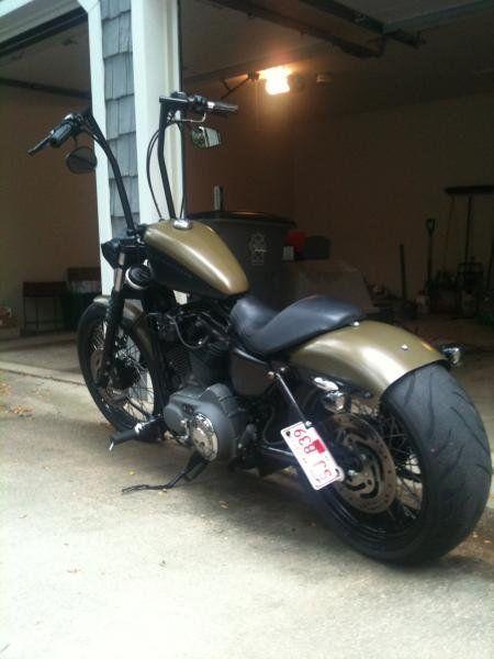sportster 240 wide tire kit - Google Search | Bobber ...