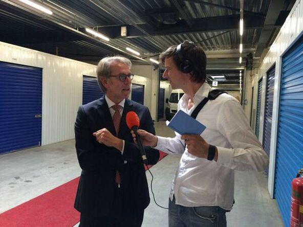 2014: interview voor Radio 4 wegens lunchconcert bij City Box Den Haag Wateringen