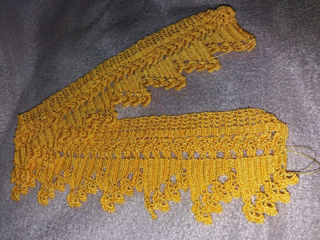 Sarı papatyalı 2013 havlu kenarları