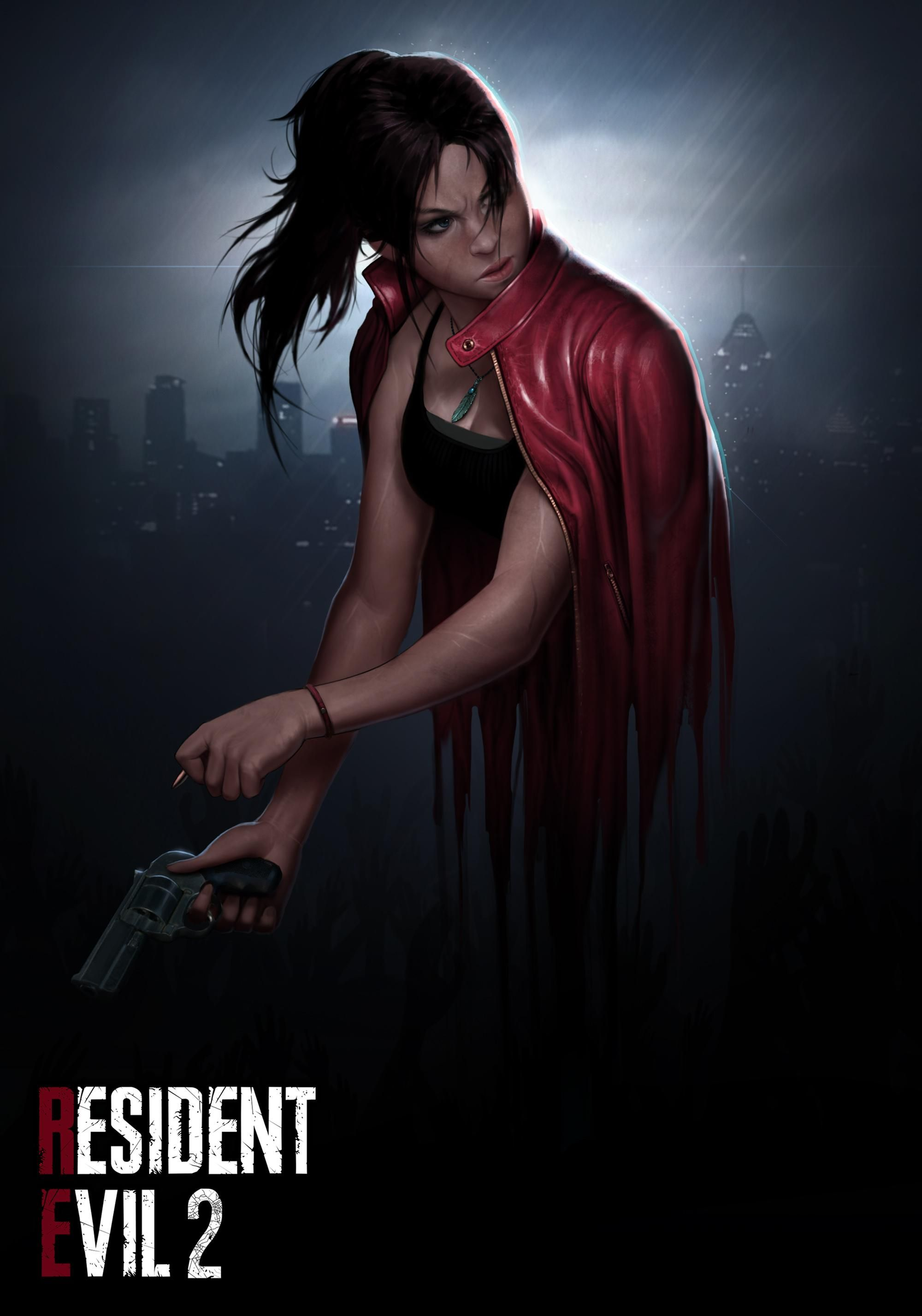 Claire Redfield Resident Evil 2 Tribute Fanart By Me Resident Evil Girl Resident Evil Resident Evil Game