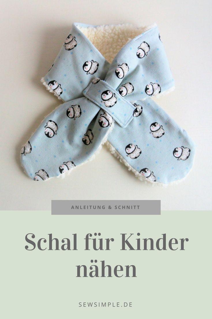 ᐅ eBook: Schal für Kinder nähen | Schnittmuster mit Anleitung – DIY Nähen pourSir