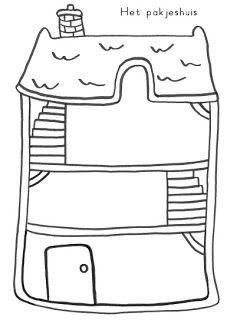 Het huis van de sint zelf tekenen pinterest for Zelf huis tekenen