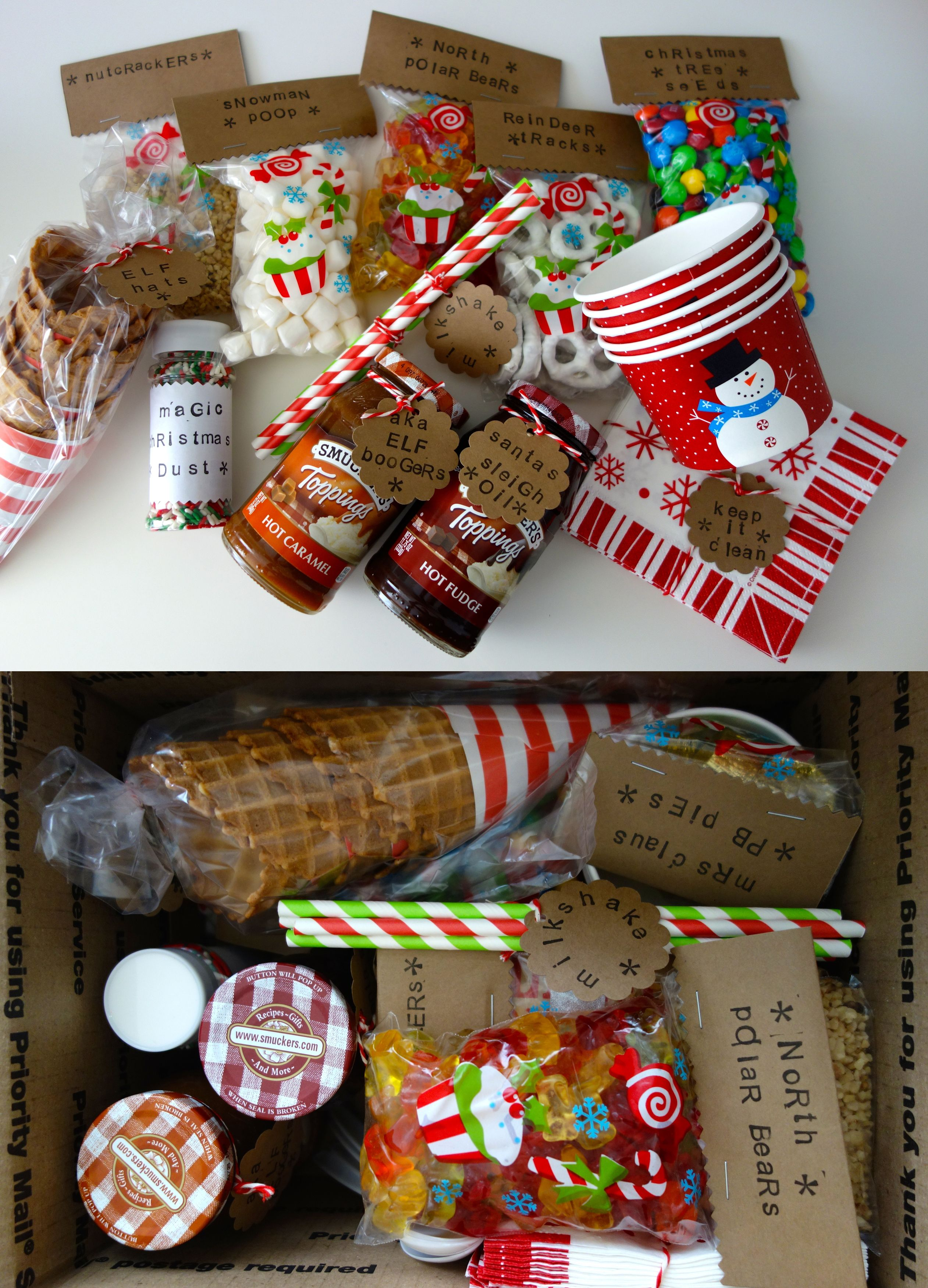 Sundae In A Box A Holiday Gift Sent To My