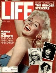 "Marilyn Monroe ~ Oct. 1, 1981 issue. ~ Old Life Magazines ~ Click image to purchase. Enter ""pinterest"" at checkout for a 12% discount."
