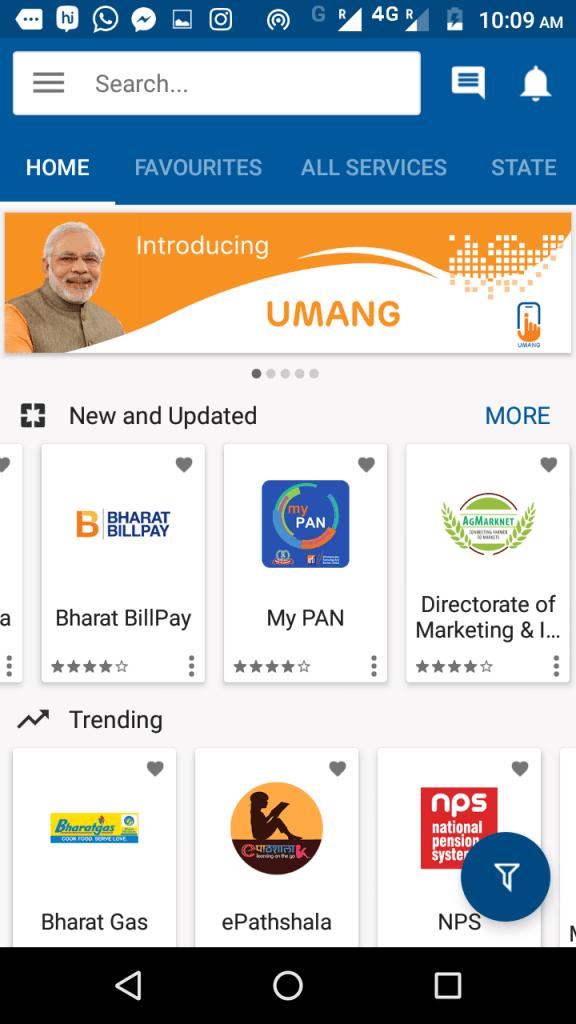 PM Modi Ne Launch Kiya UMANG App App, Paying bills