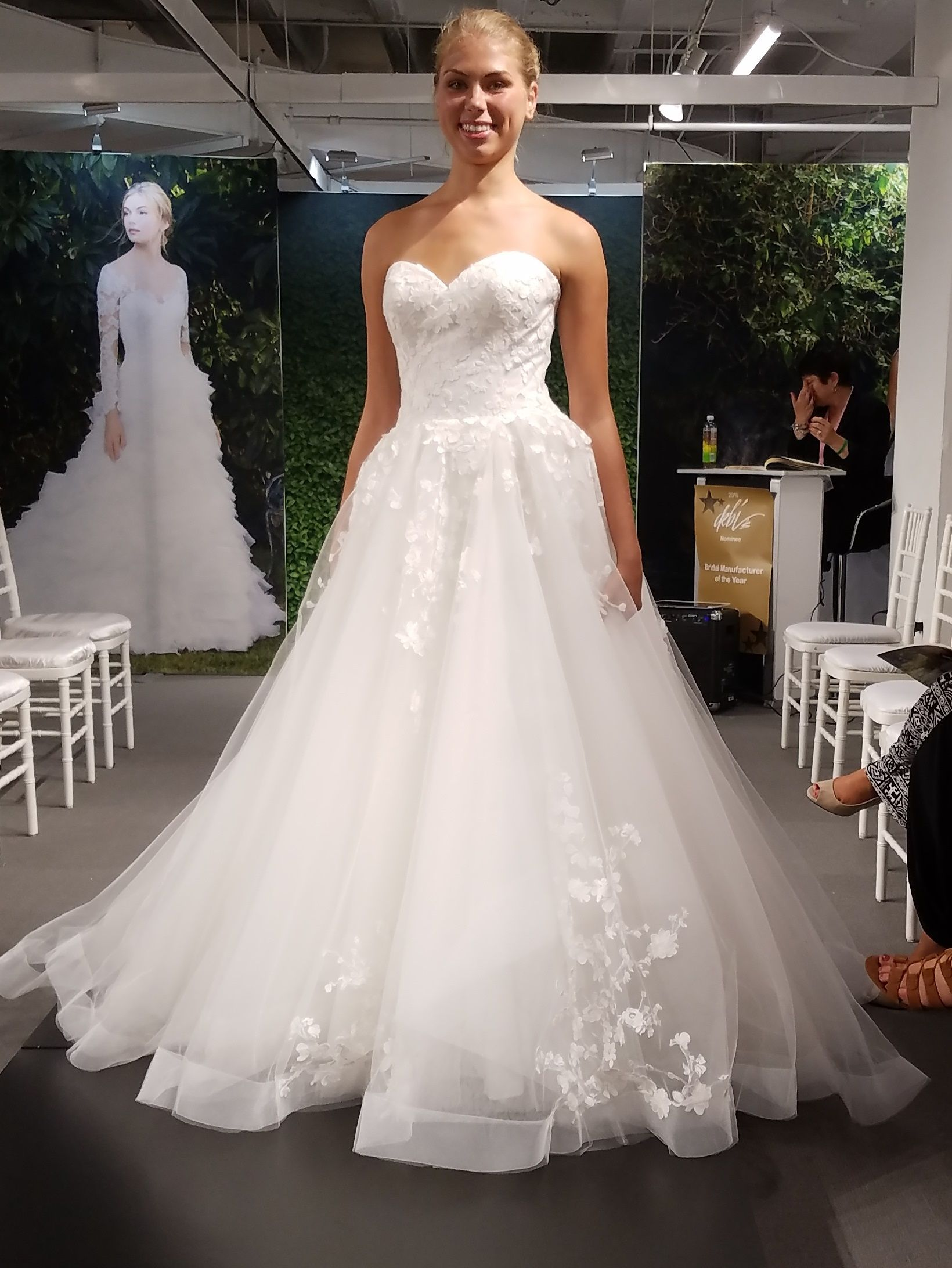 6948173f1b50 Morning Glory :: Casablanca 2267. Find this Pin and more on Wedding Dresses  ...