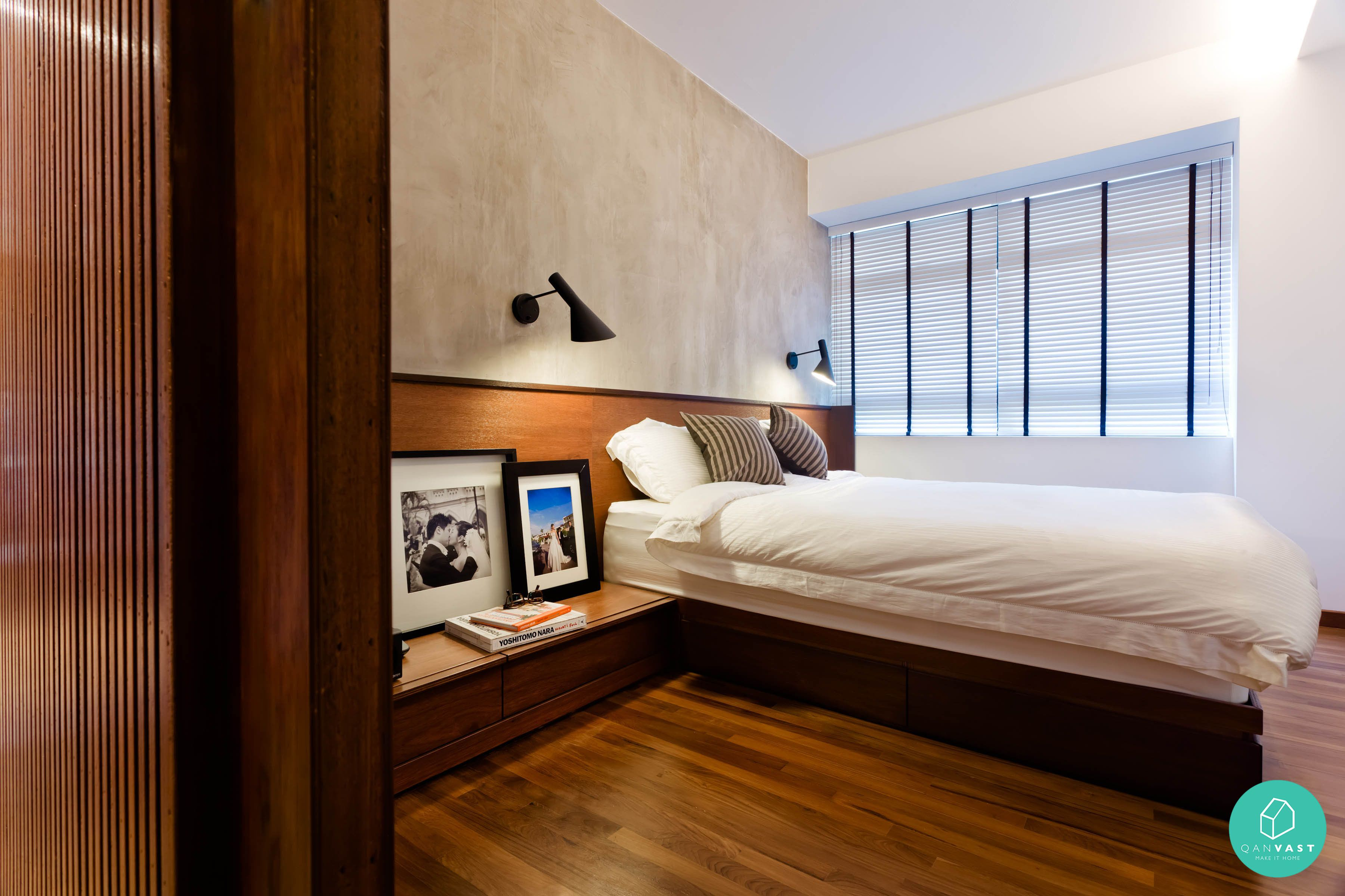 Scandustrial theme 6 homes that achieved this look bedrooms industrial and wall beds Master bedroom reno ideas