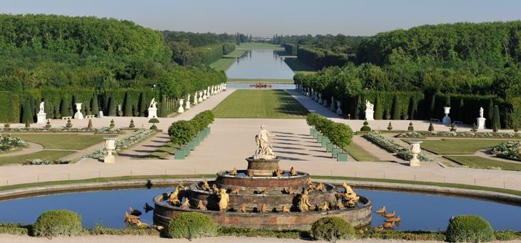 Pingl par val rie glagla sur ch teau de versailles france pinterest ch teaux spectacle - Chateau de versailles jardin ...