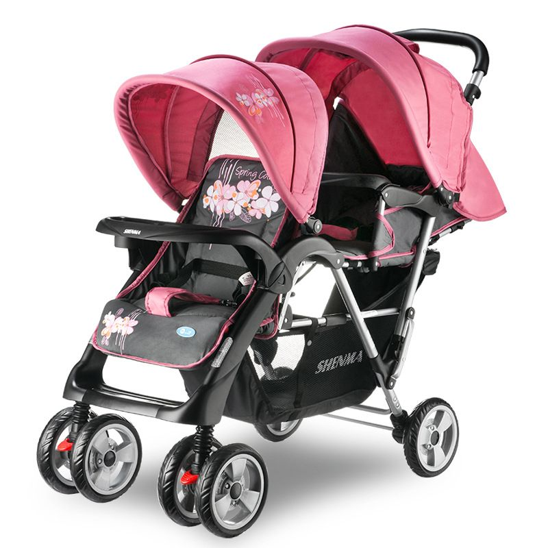 Hot Sale Baby Stroller for Twins,Folding Twin Double