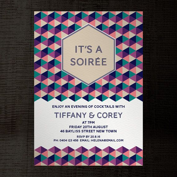 soiree indesign template party invitation a5 for birthday fl 2018 pinterest indesign templates and template