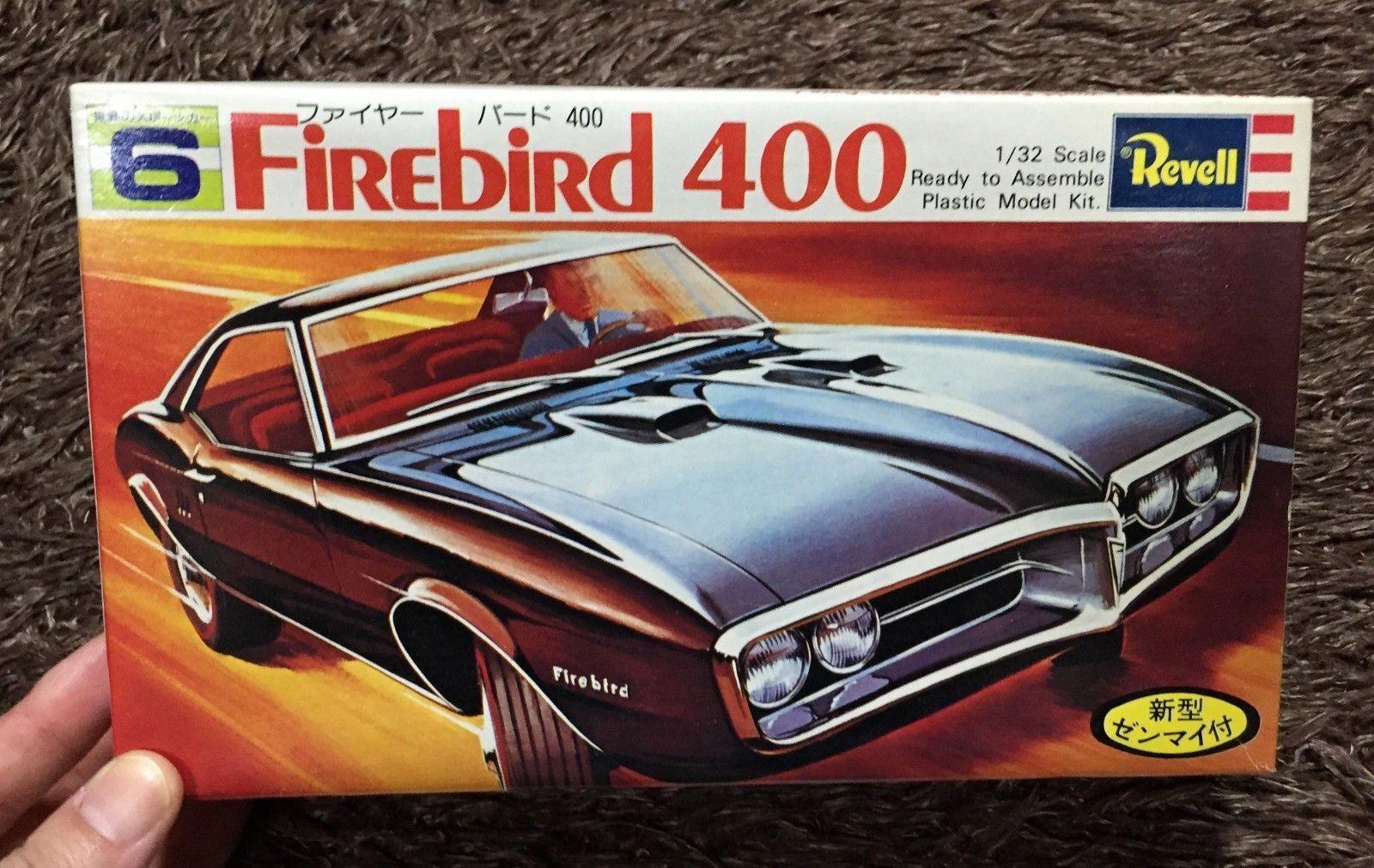 Firebird 400 1 32 model kit gunze revell japan fire bird ebay