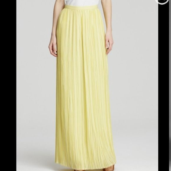 "Spotted while shopping on Poshmark: ""Alice+ Olivia Viva pleated Maxi skirt""! #poshmark #fashion #shopping #style #Alice + Olivia #Dresses & Skirts"