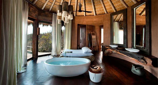 Luxe Villa Badkamer : Badkamer landelijk afrika zuid afrika en reizen