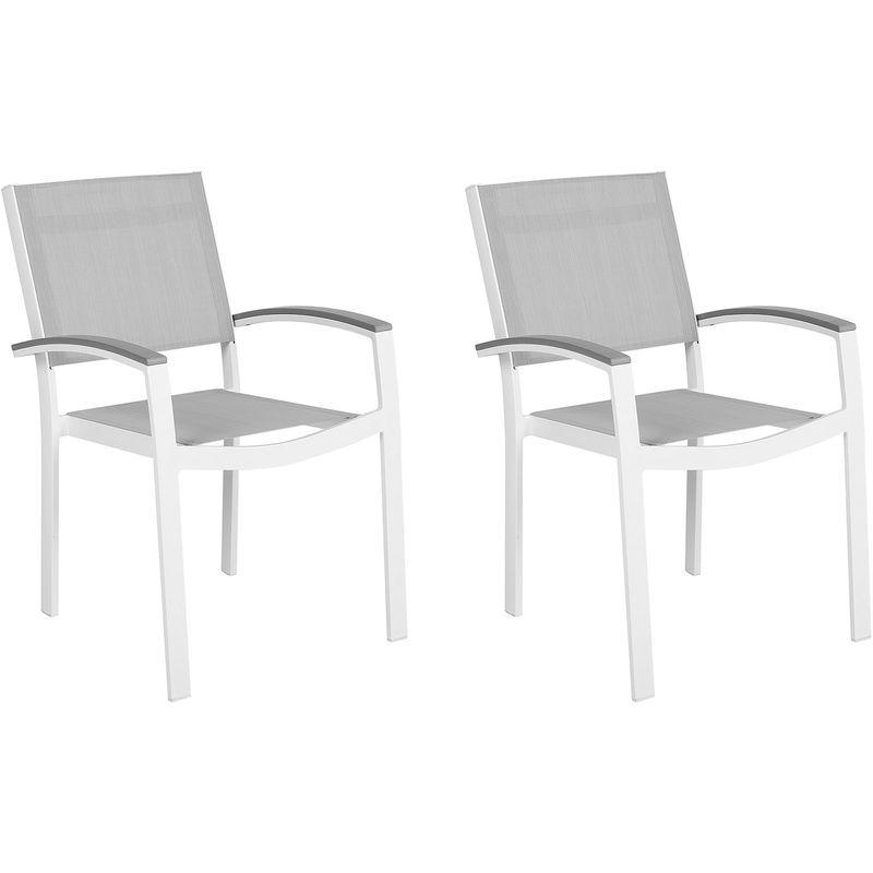 2 Chaises De Jardin En Aluminium 145279 Home Decor Outdoor Decor Outdoor Chairs